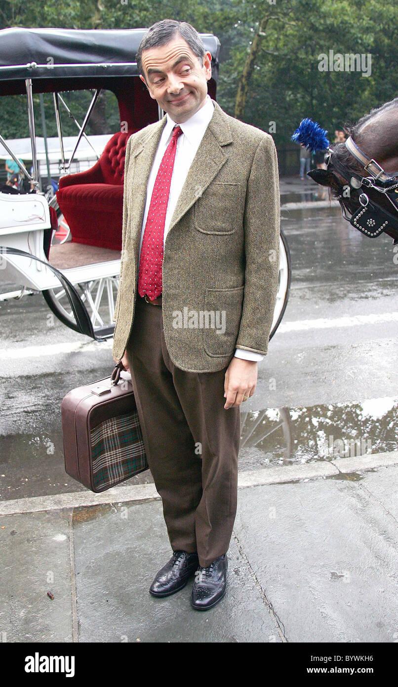 Mr Bean Frohe Weihnachten.Rowan Atkinson Aka Mr Bean Promotes His New Movie Mr Bean S