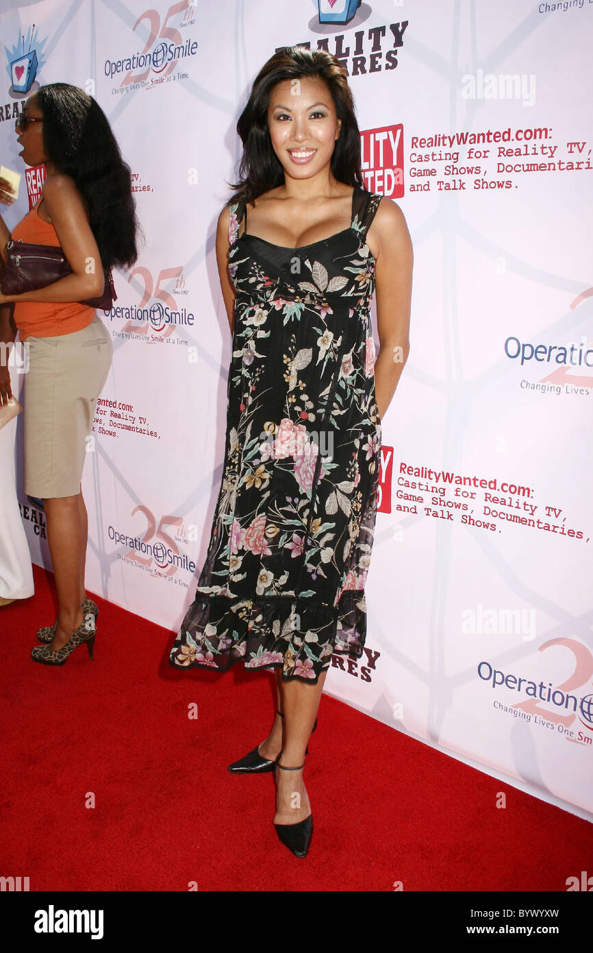 Leilene Ondrade Reality All Stars Event Benefiting Operation Smile Held At Josephs