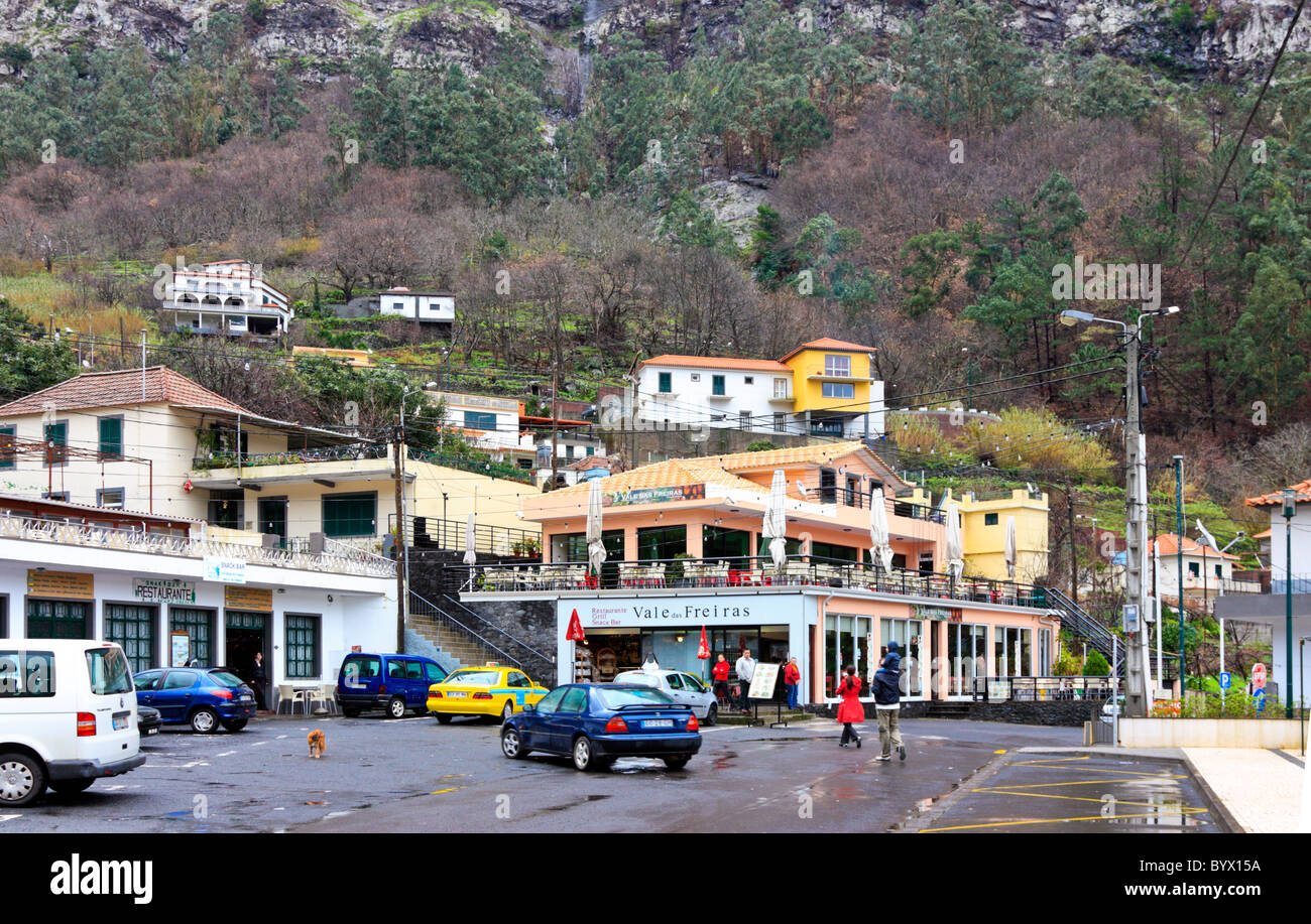 Curral das Freiras, a village in the hills of Madeira - Stock Image