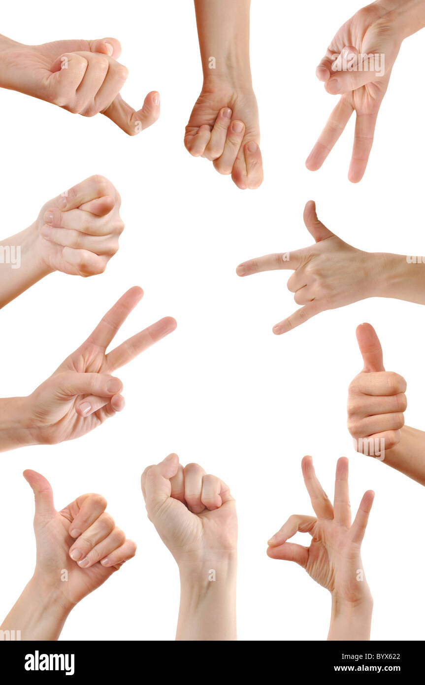 Hand Signs Ok Stock Photos Hand Signs Ok Stock Images Alamy