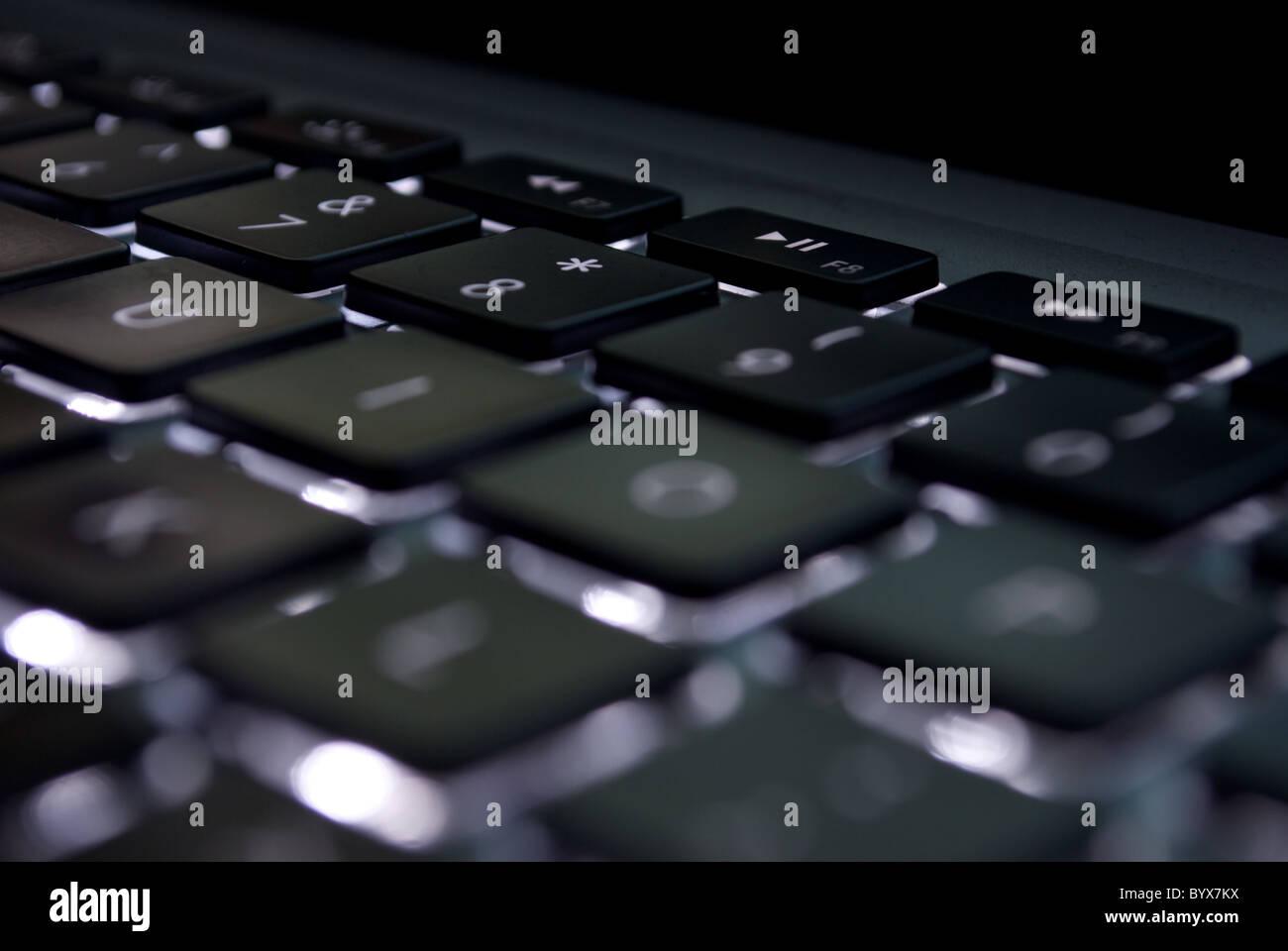 Black Keyboard - Stock Image