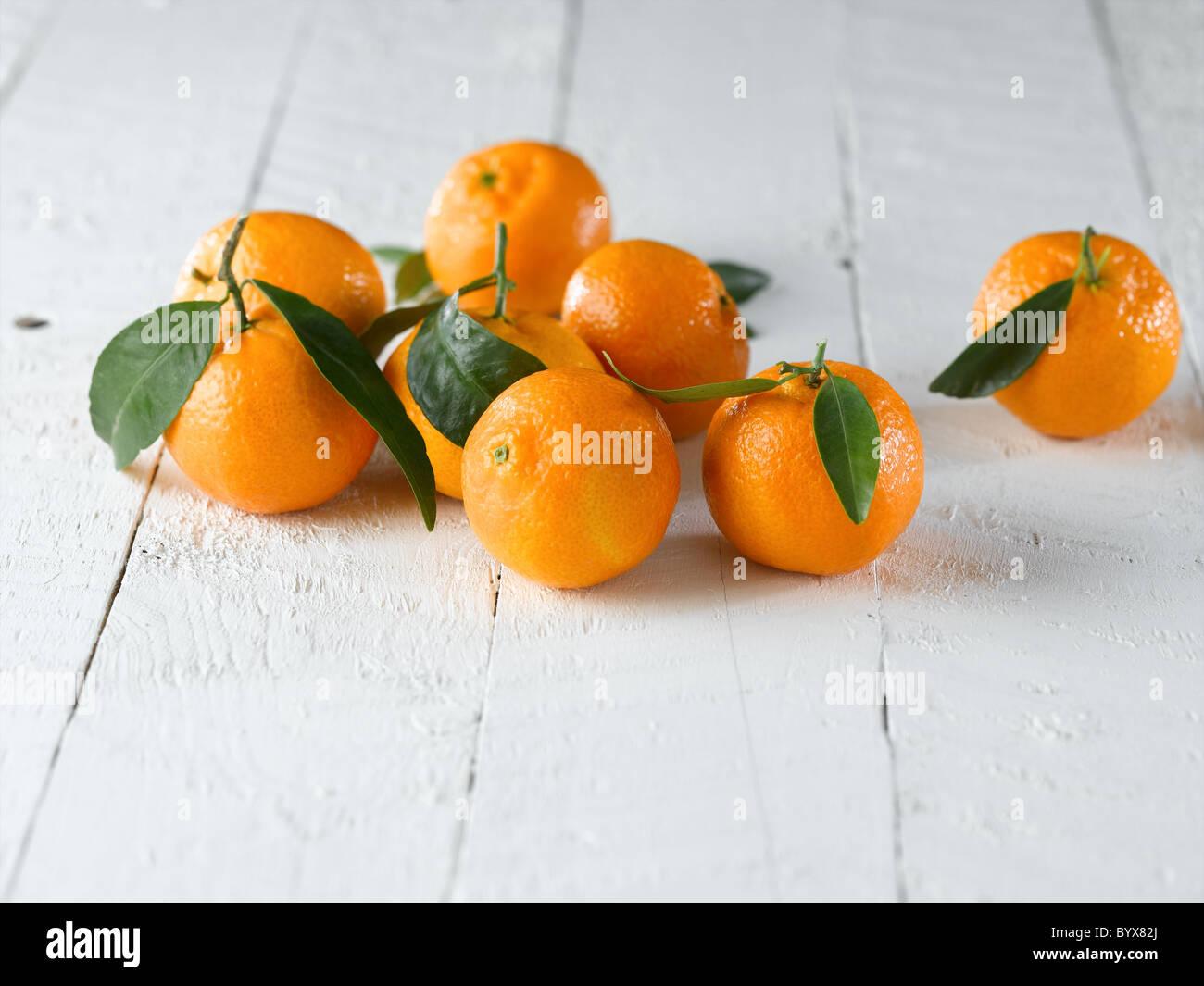 mandarins - Stock Image