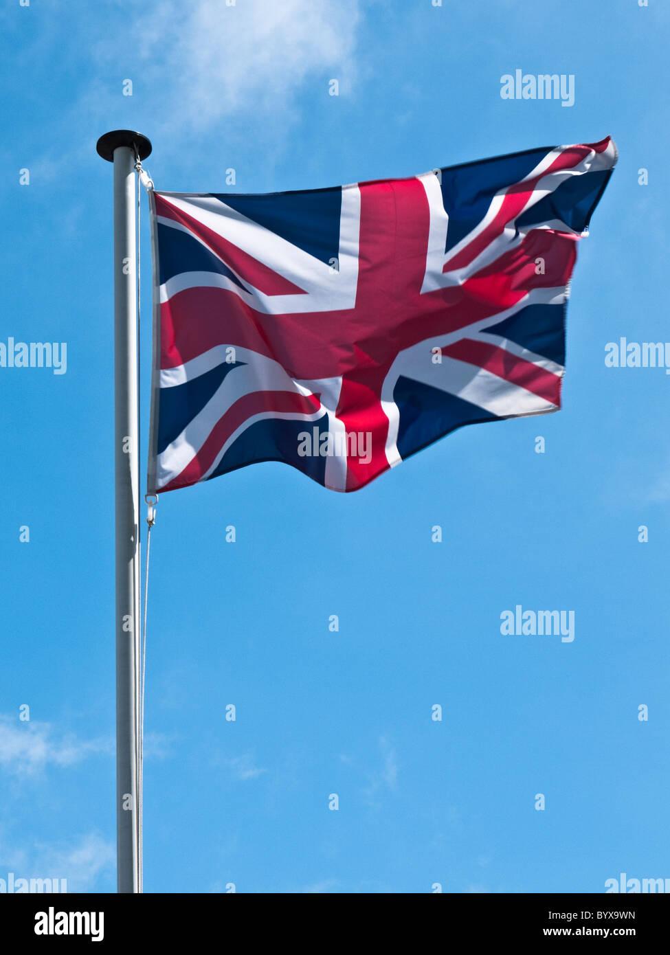 British Union Jack Flag - Stock Image