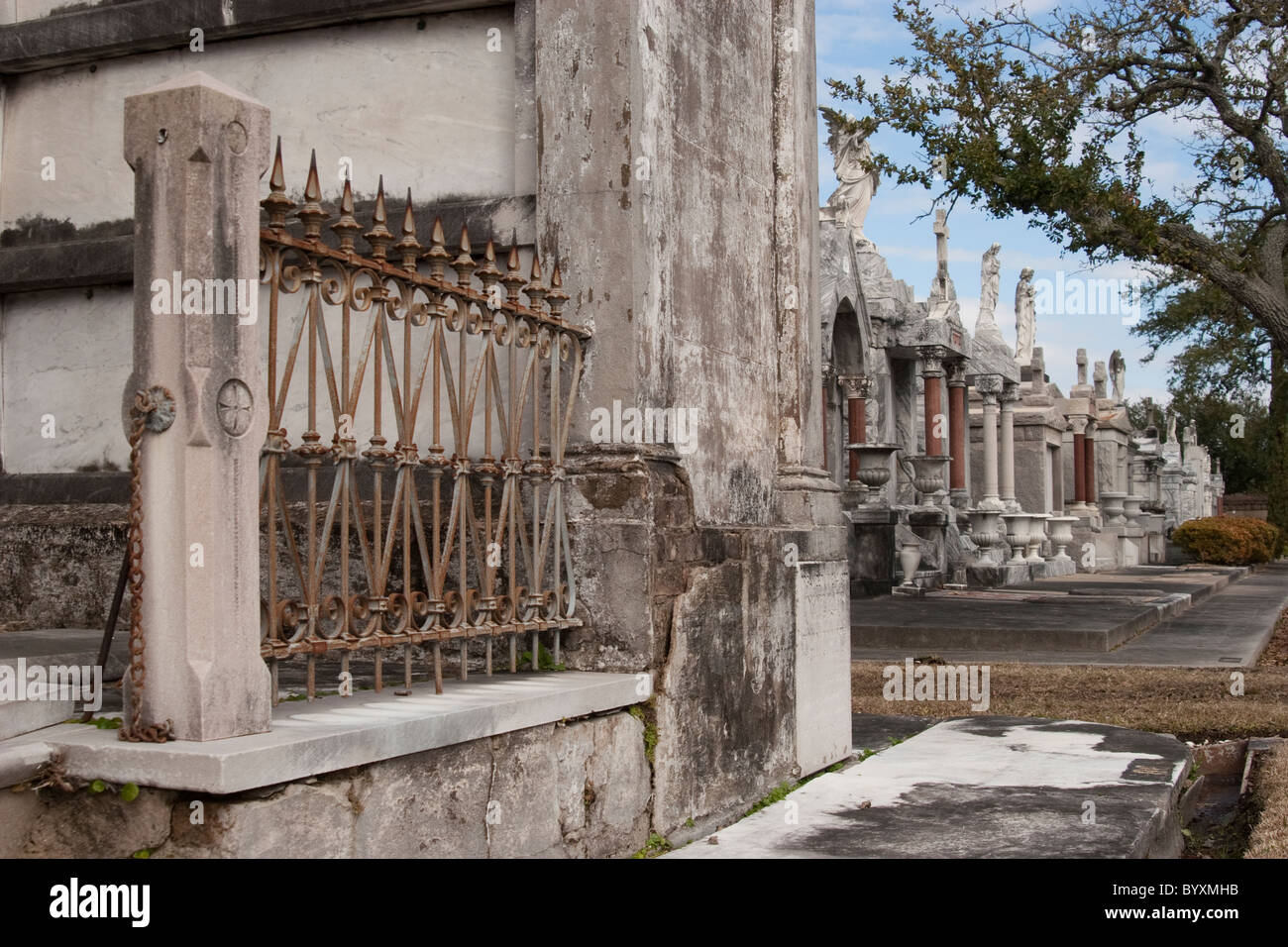 Metairie Cemetery New Orleans Stock Photos Amp Metairie