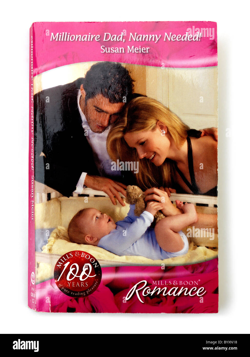Front Cover Of Mills and Boon Paperback Novel Stock Photo: 34393332