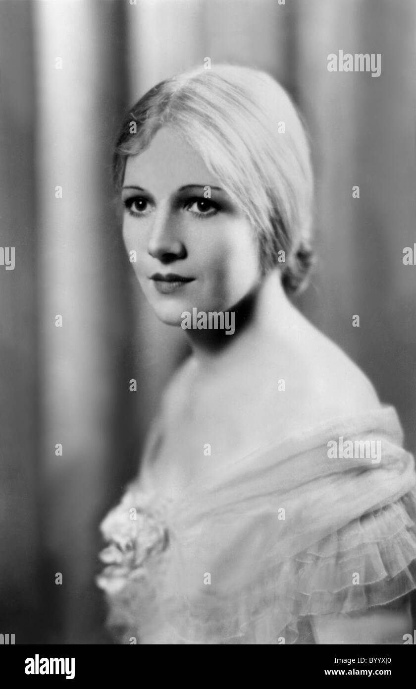 ANN HARDING ACTRESS (1918) - Stock Image