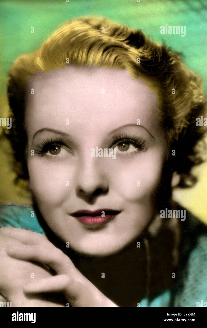 ANNA LEE ACTRESS (1920) - Stock Image