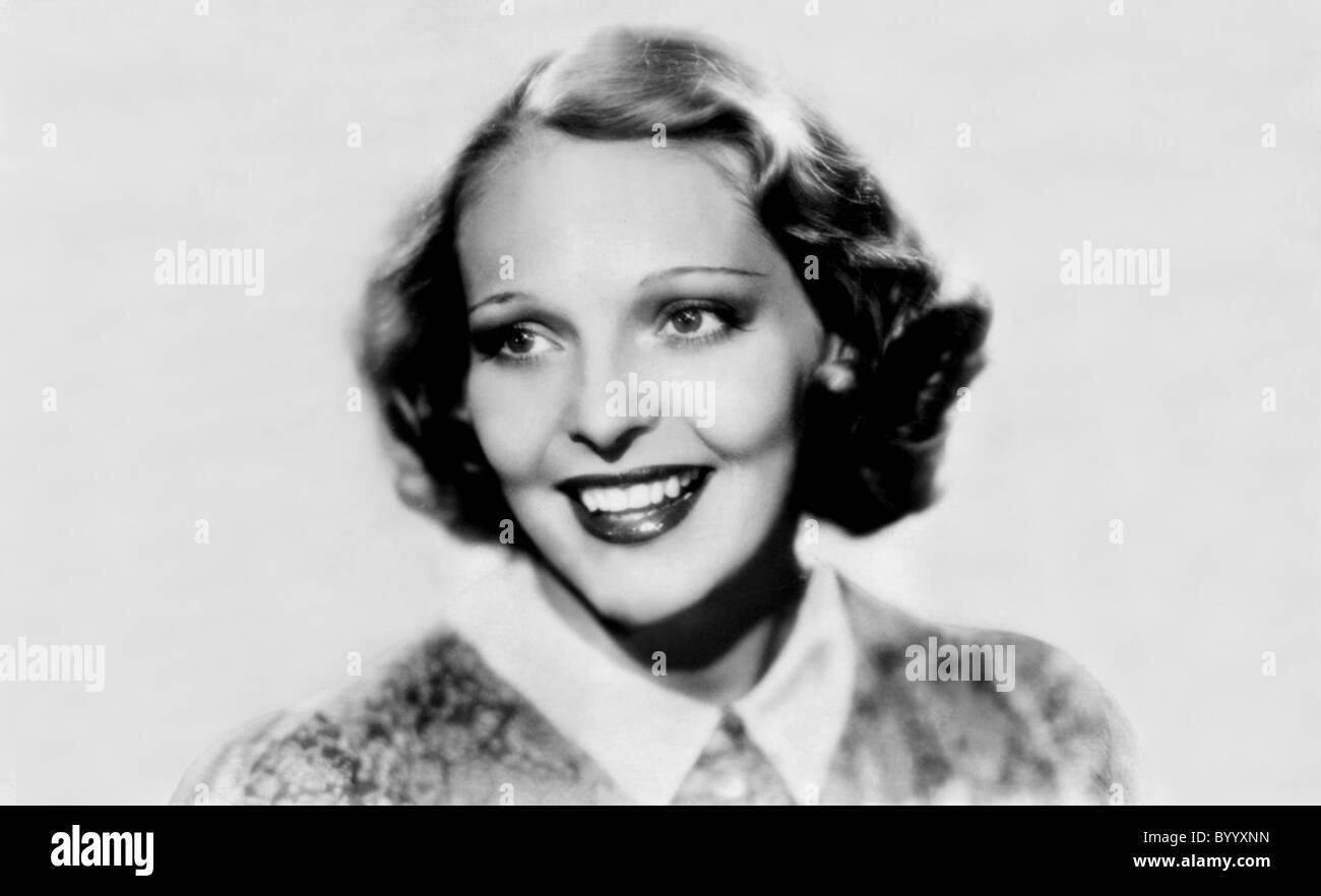 SALLY BLANE ACTRESS (1932) - Stock Image