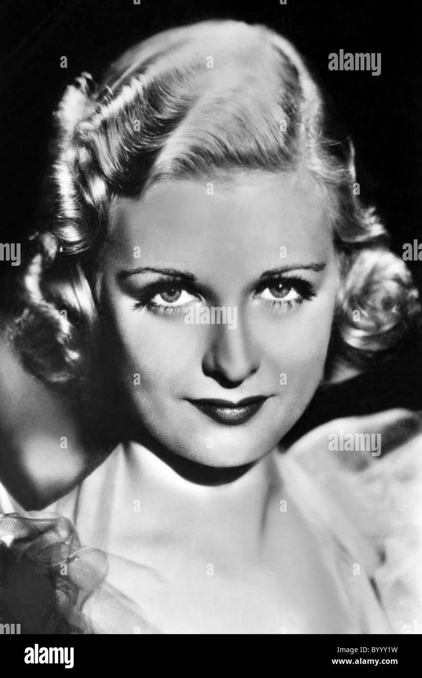 JOAN BENNETT ACTRESS (1940) Stock Photo
