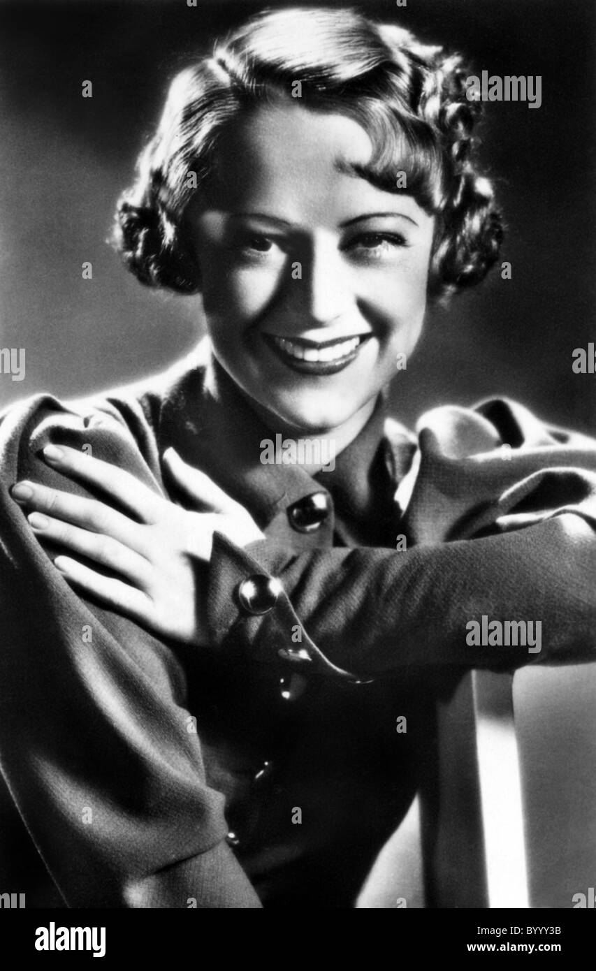 SALLY EILERS ACTRESS (1933) - Stock Image