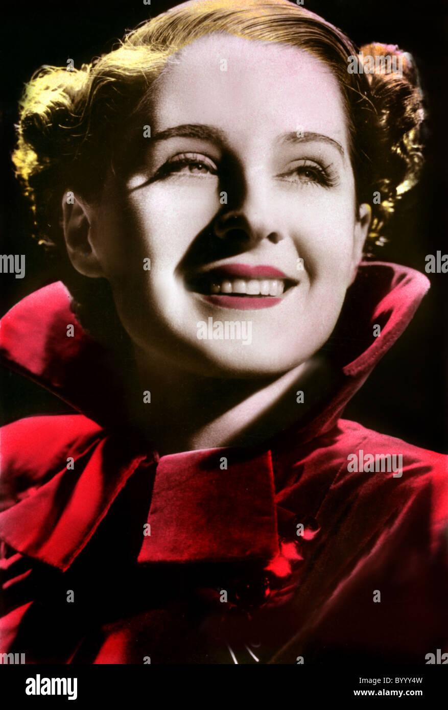NORMA SHEARER ACTRESS (1934) - Stock Image