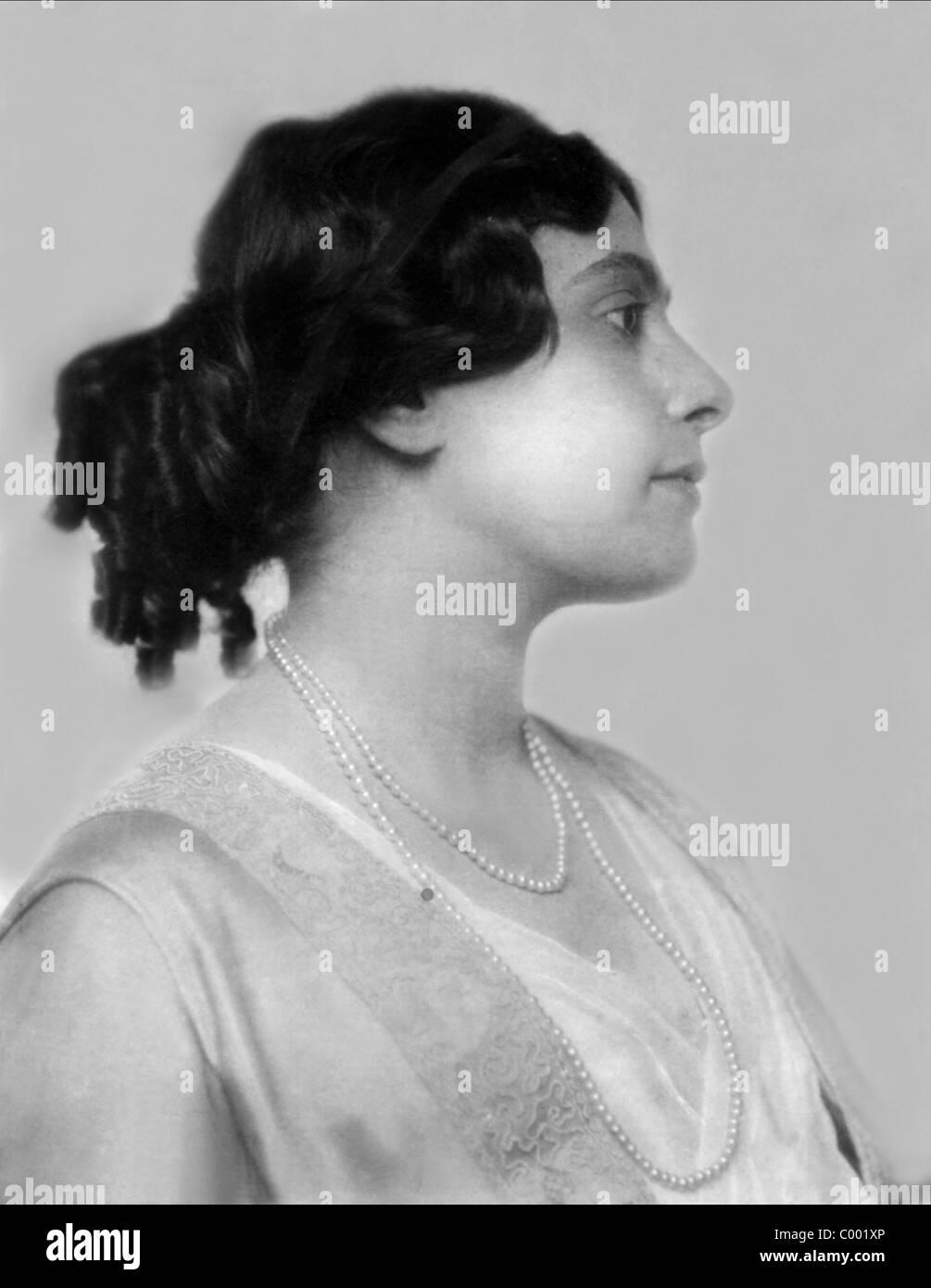 WANDA TREUMANN ACTRESS (1909) - Stock Image