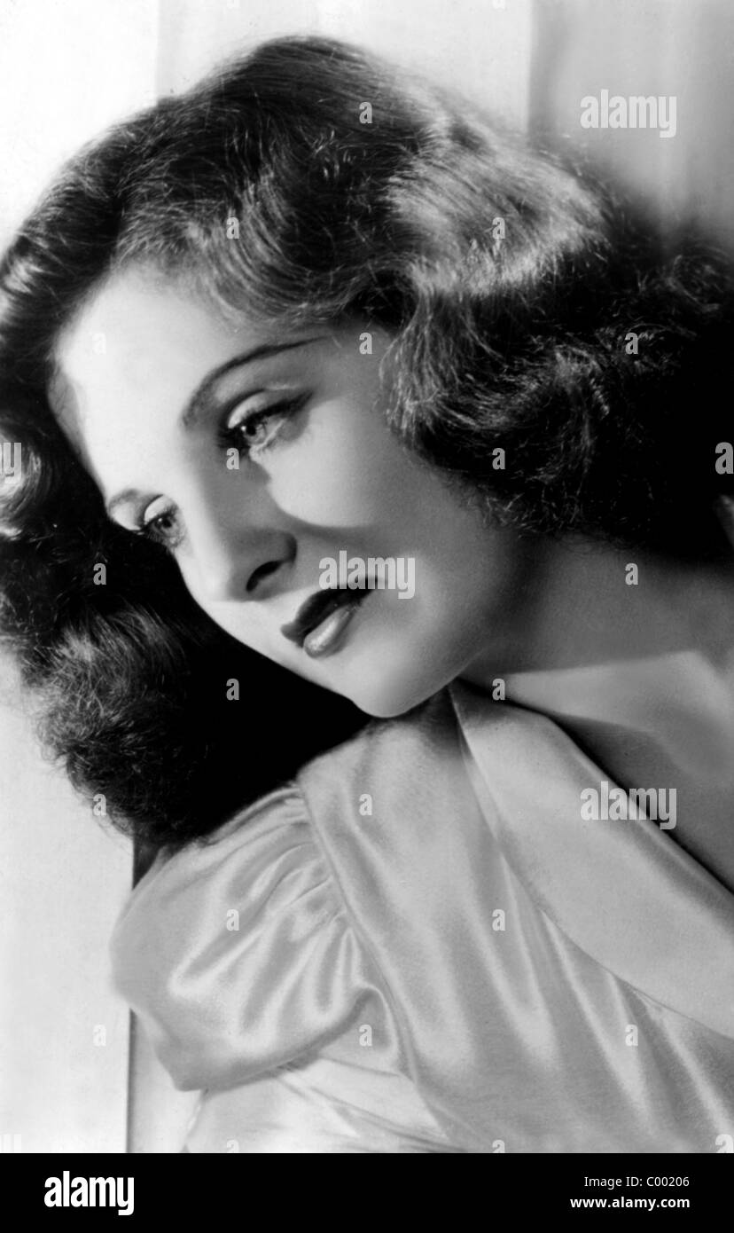 CONSTANCE MOORE ACTRESS (1940) Stock Photo