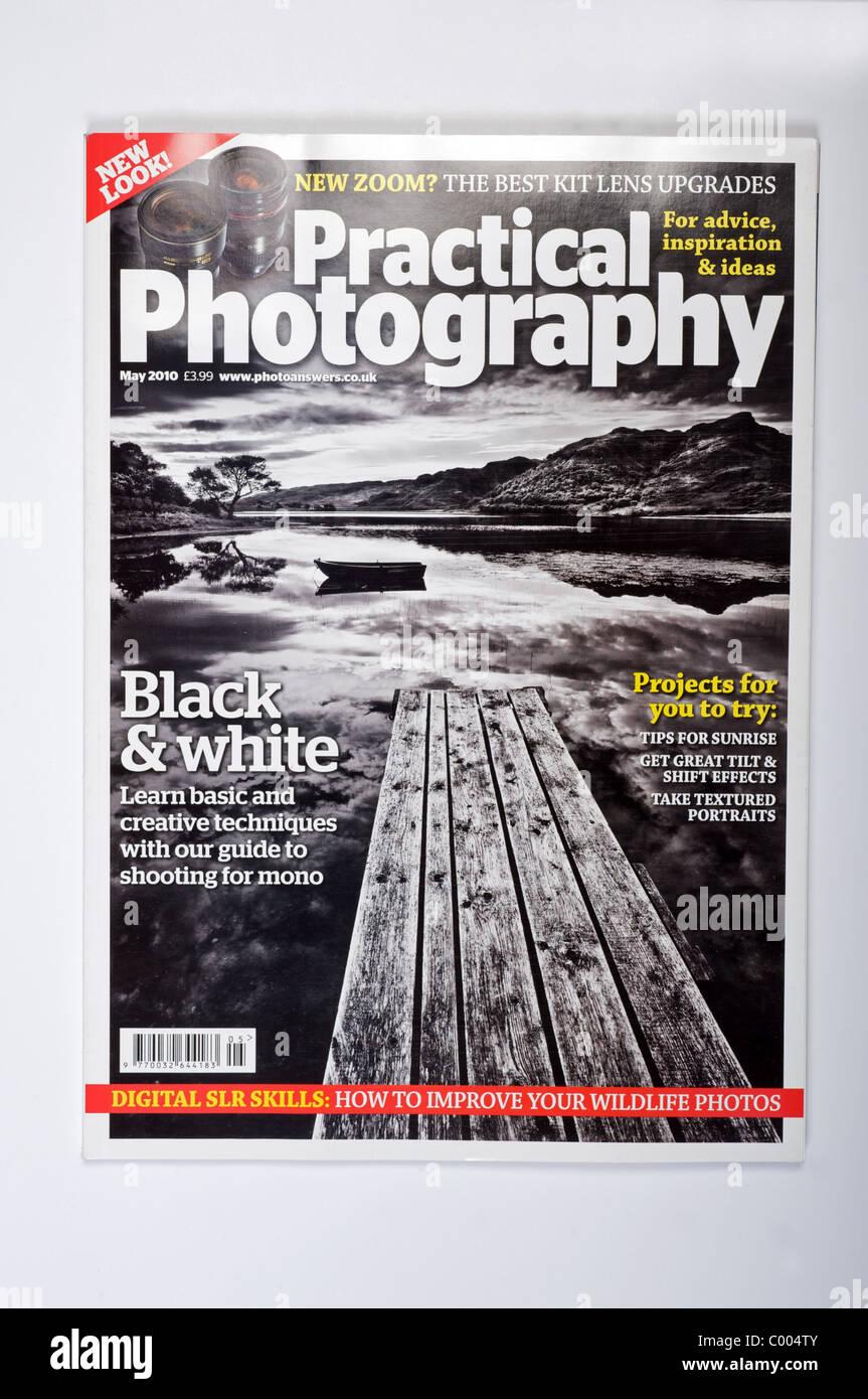 Practical Photography magazine - Stock Image