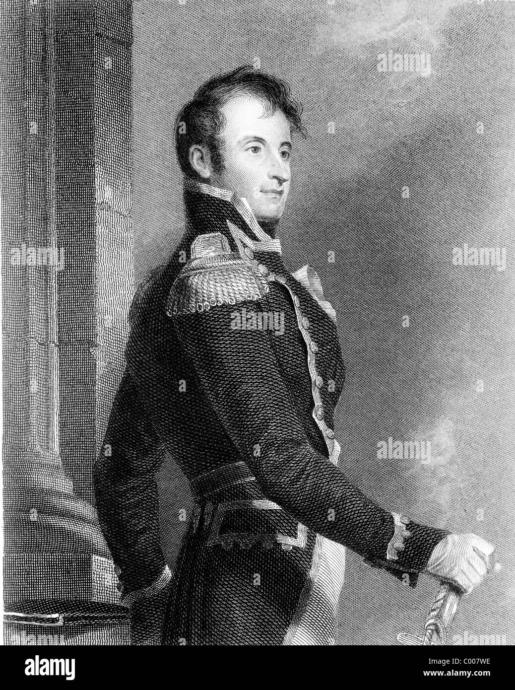 Stephen Decatur, Commodore Stephen Decatur Jr. American naval officer - Stock Image