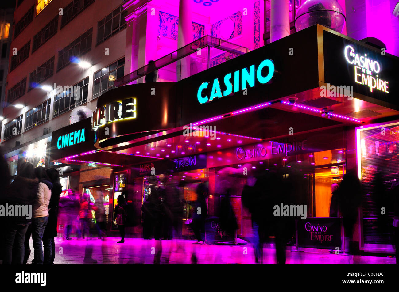 Empire, Leicester Square, London - Stock Image
