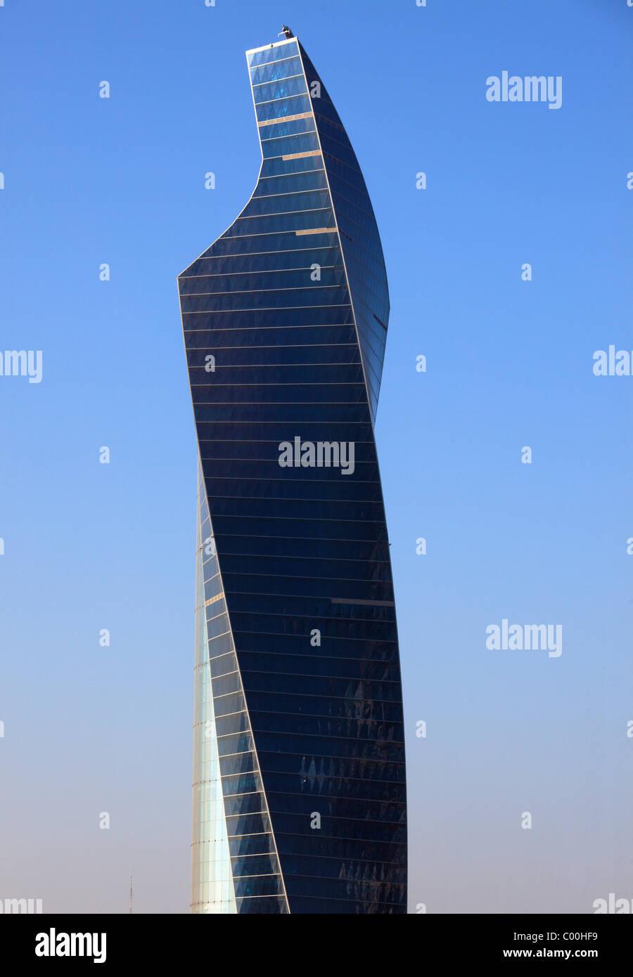 Kuwait, Kuwait City, skyscraper, highrise, building, - Stock Image