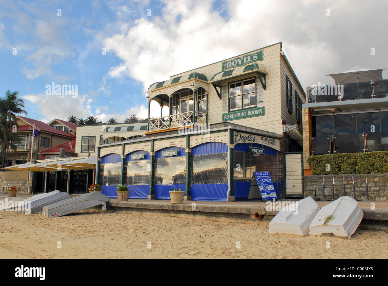 Doyles fish restaurant at Watsons Bay, Sydney. - Stock Image
