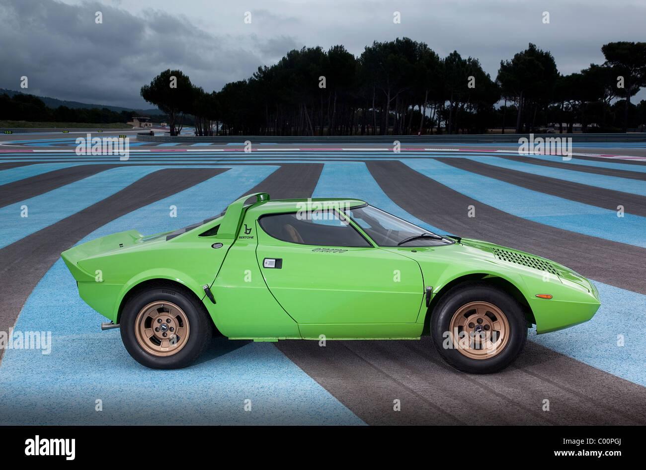 Lancia Stratos Road car - Stock Image