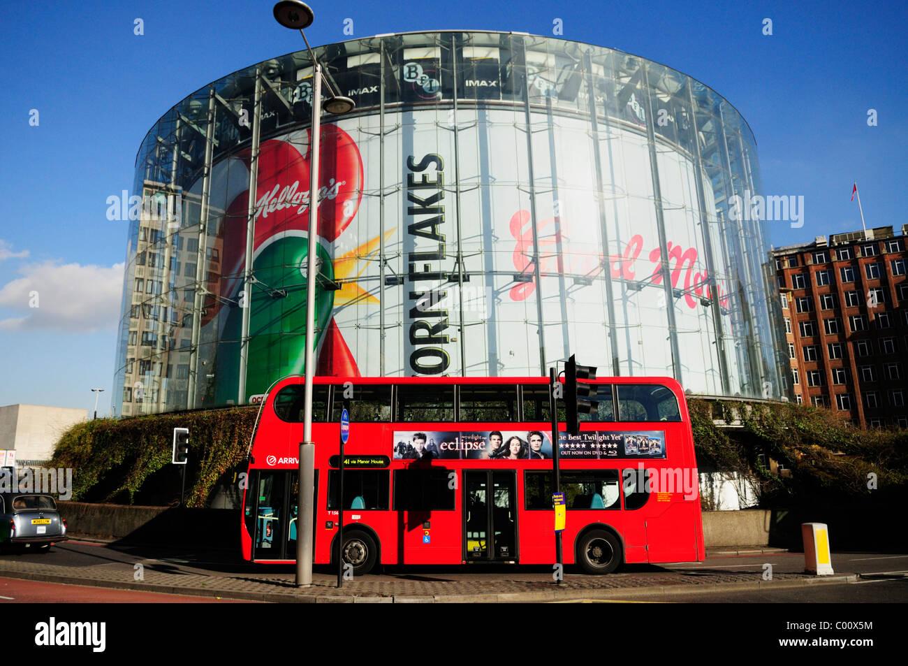 BFI  IMAX Southbank Cinema, Waterloo, London, England, UK - Stock Image