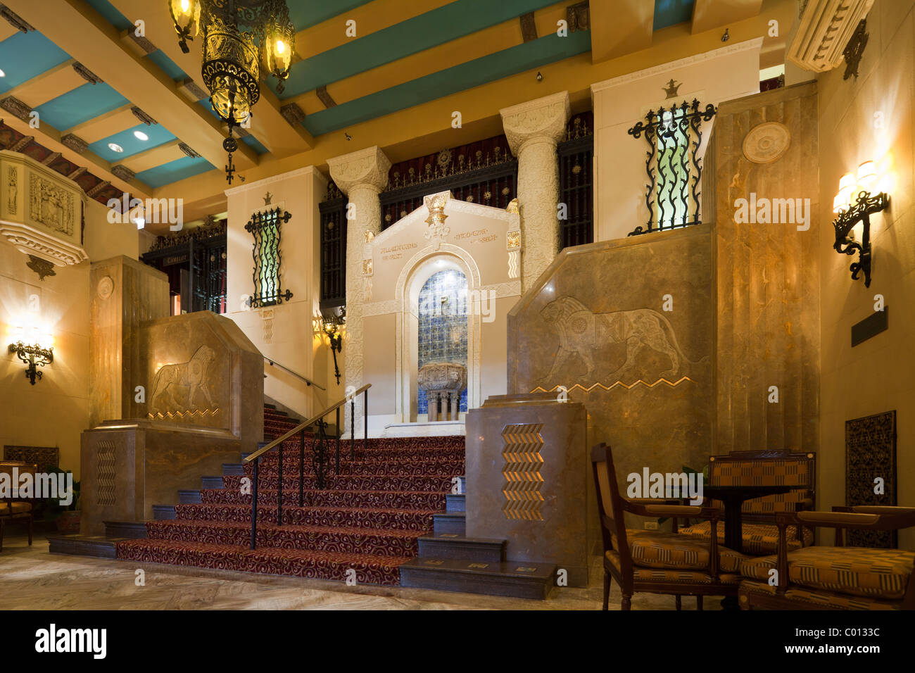 staircase medinah athletic club now the hotel intercontinental