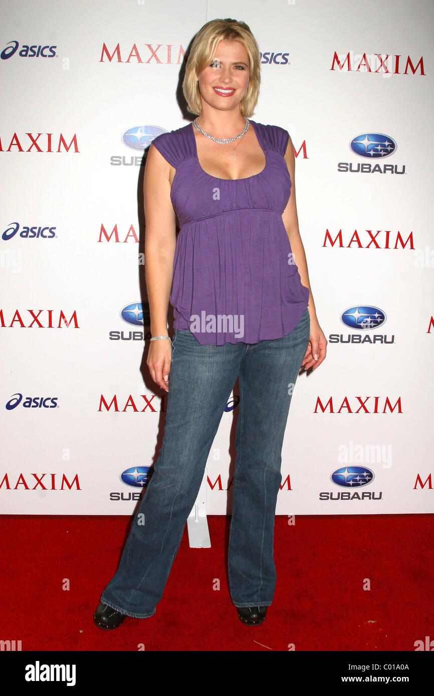 Kristy Swanson Maxim Magazine's ICU Event- Arrivals held at Area Los Angeles, California - 02.08.07 - Stock Image