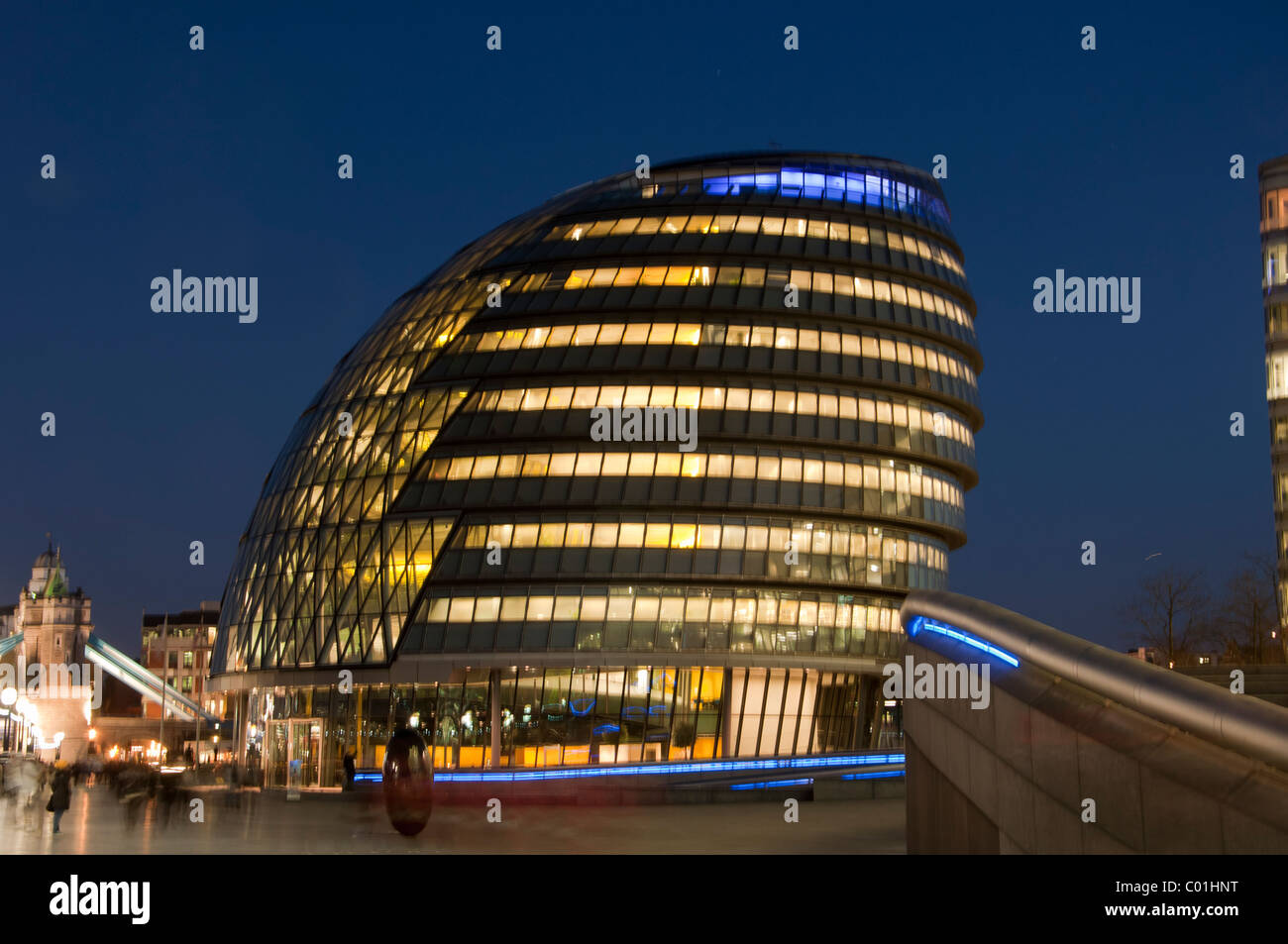 City Hall, home to Mayor of London, London Assembly and Greater London Authority GLA, London, England - Stock Image