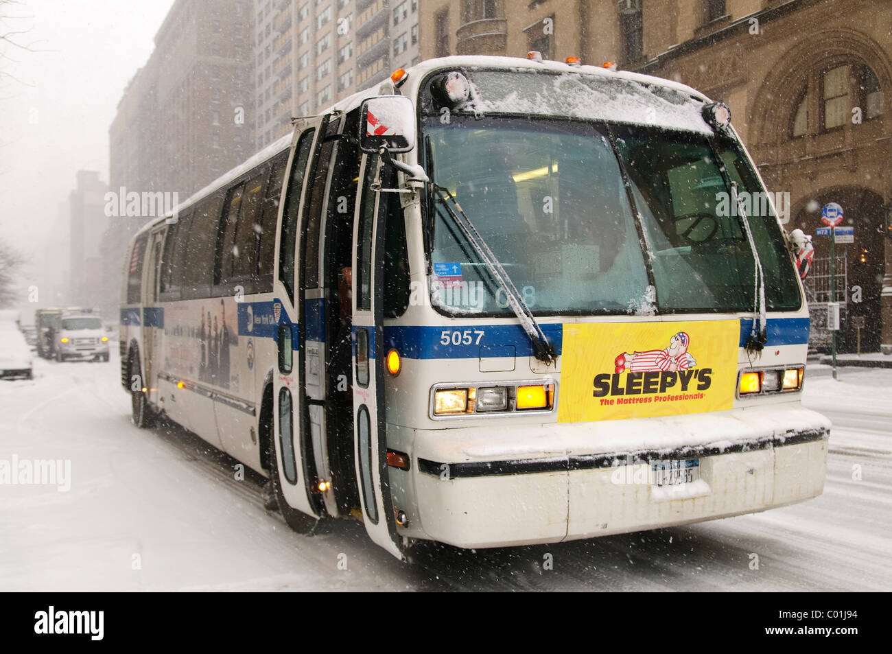 New Mta Bus Stock Photos New Mta Bus Stock Images Alamy