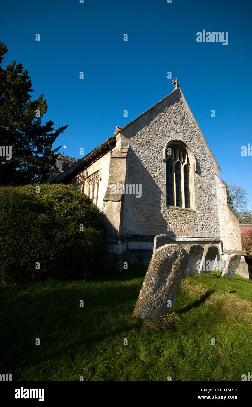 Letcombe Regis Parish Church Wantage Oxfordshire England UK - Stock Image