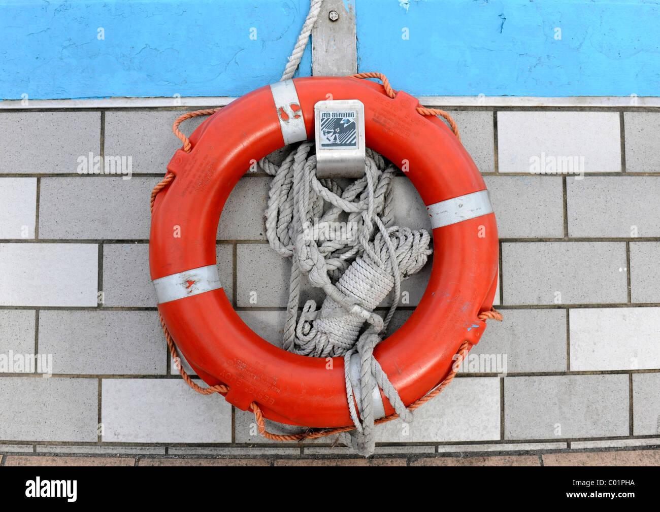 Life saver, Hong Kong, China, Asia - Stock Image