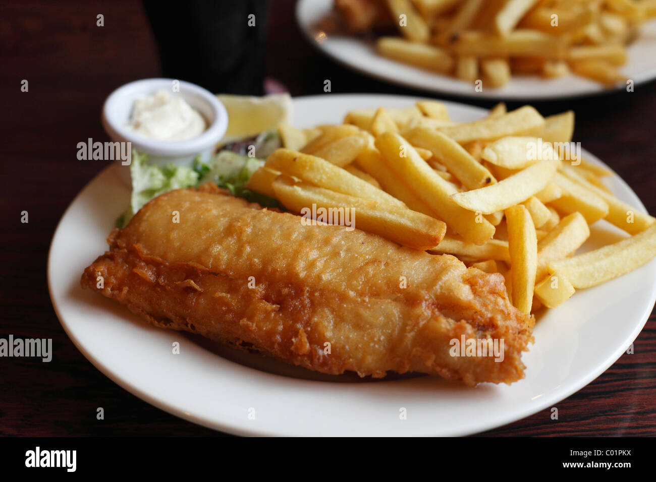 Fish and Chips, Republic of Ireland, Europe Stock Photo