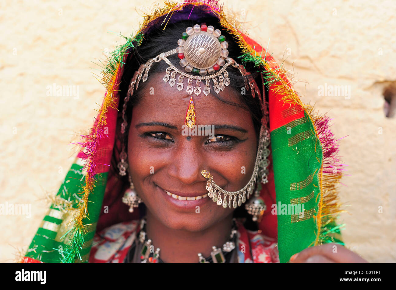Indian Nose Ring Stock Photos Indian Nose Ring Stock Images Alamy