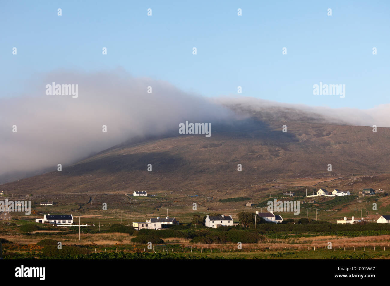 Dooega, Achill Island, County Mayo, Connacht province, Republic of Ireland, Europe - Stock Image