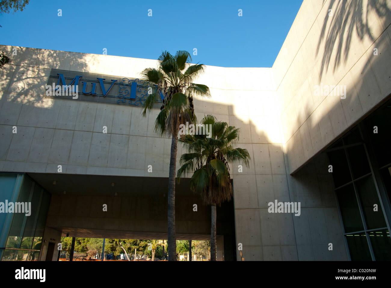 Valencian Museum of Illustration and Modernity – MUVIM Valencia, Spain - Stock Image
