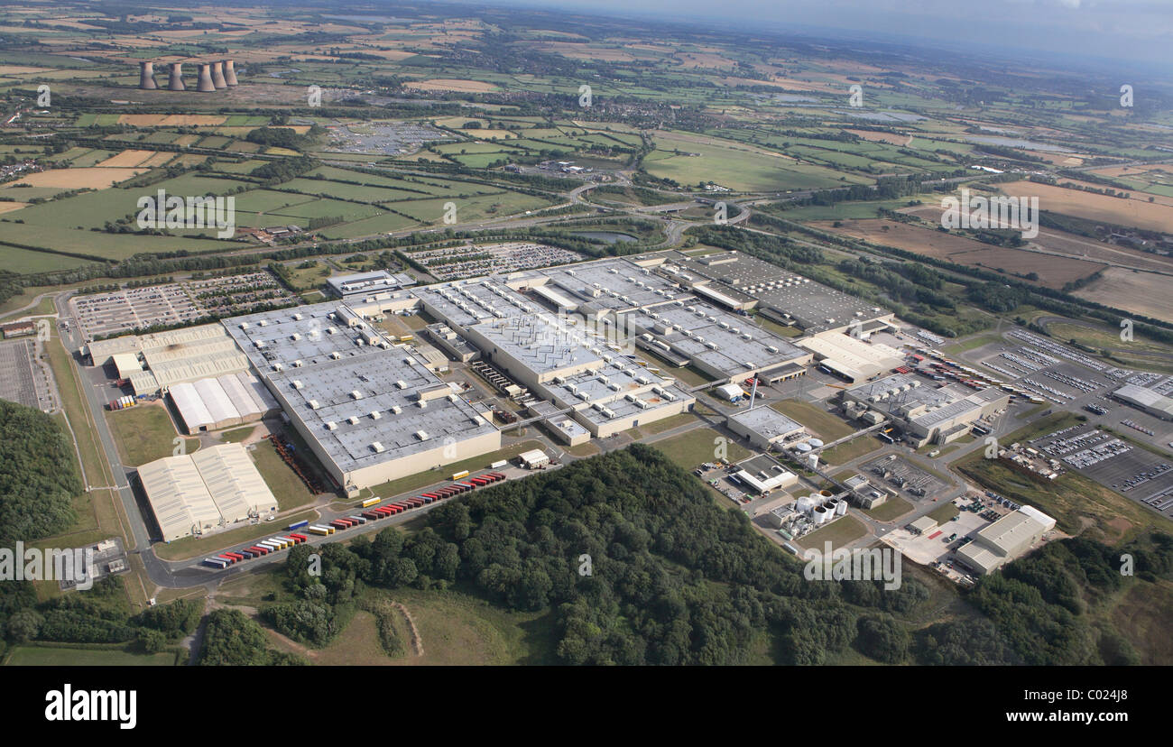 Toyota Car Factory At Burnaston Derbyshire Uk Stock Photo 34468288