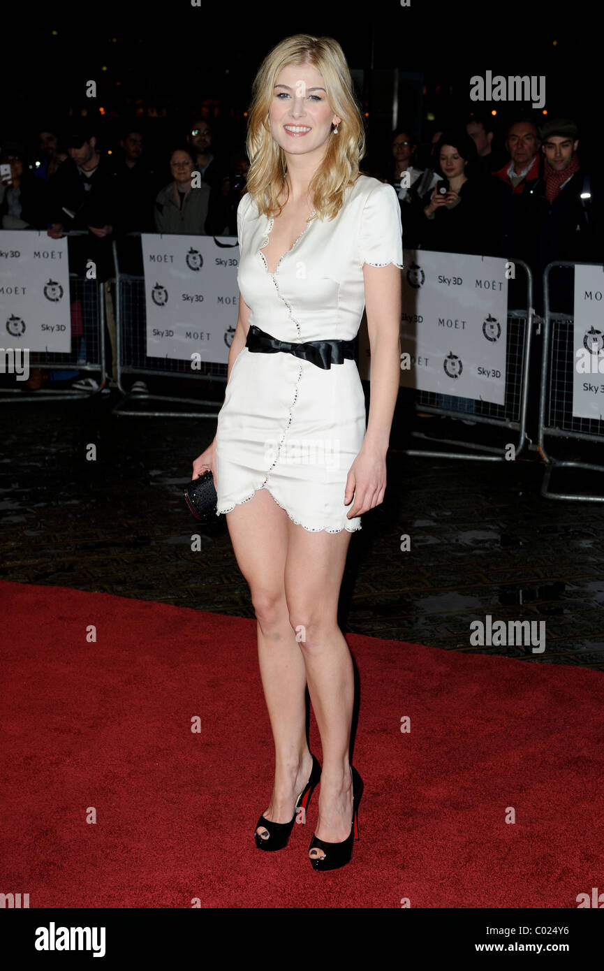 Rosamund Pike arrives for the Critic's Circle Awards at the BFI, Southbank, London, 10th February 2011. - Stock Image