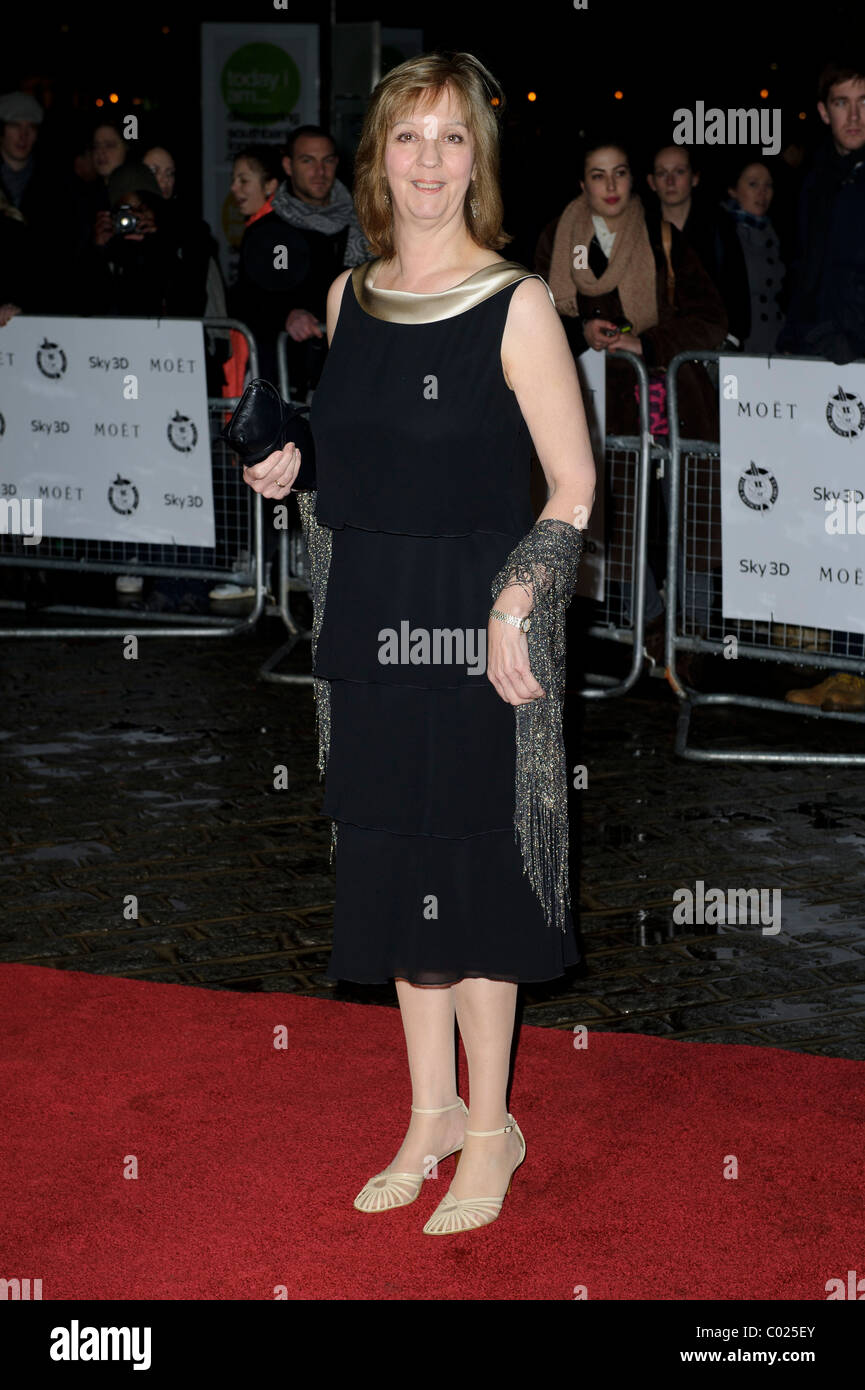 Ruth Sheen arrives for the Critic's Circle Awards at the BFI, Southbank, London, 10th February 2011. - Stock Image