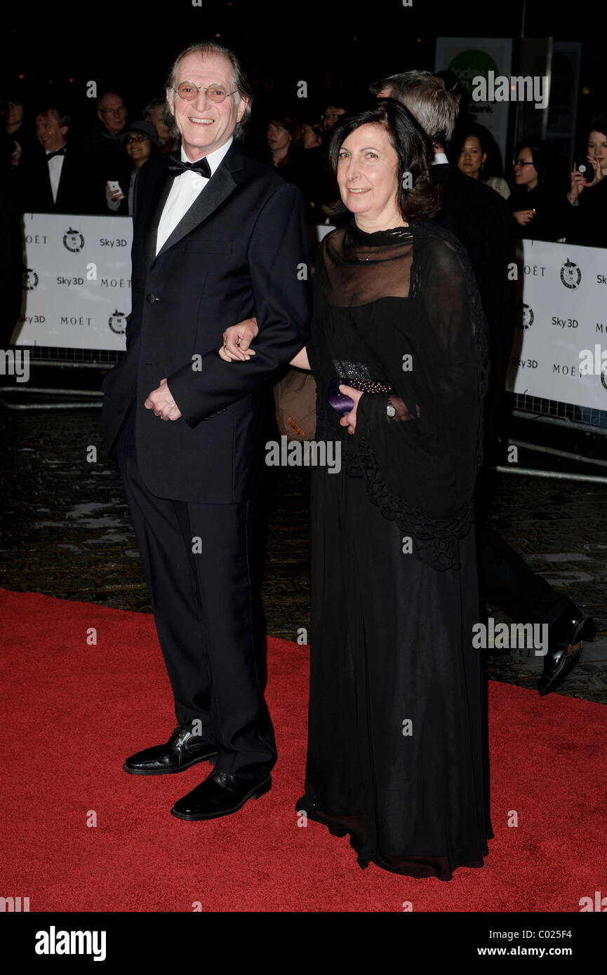 David Bradley arrives for the Critic's Circle Awards at the BFI, Southbank, London, 10th February 2011. - Stock Image