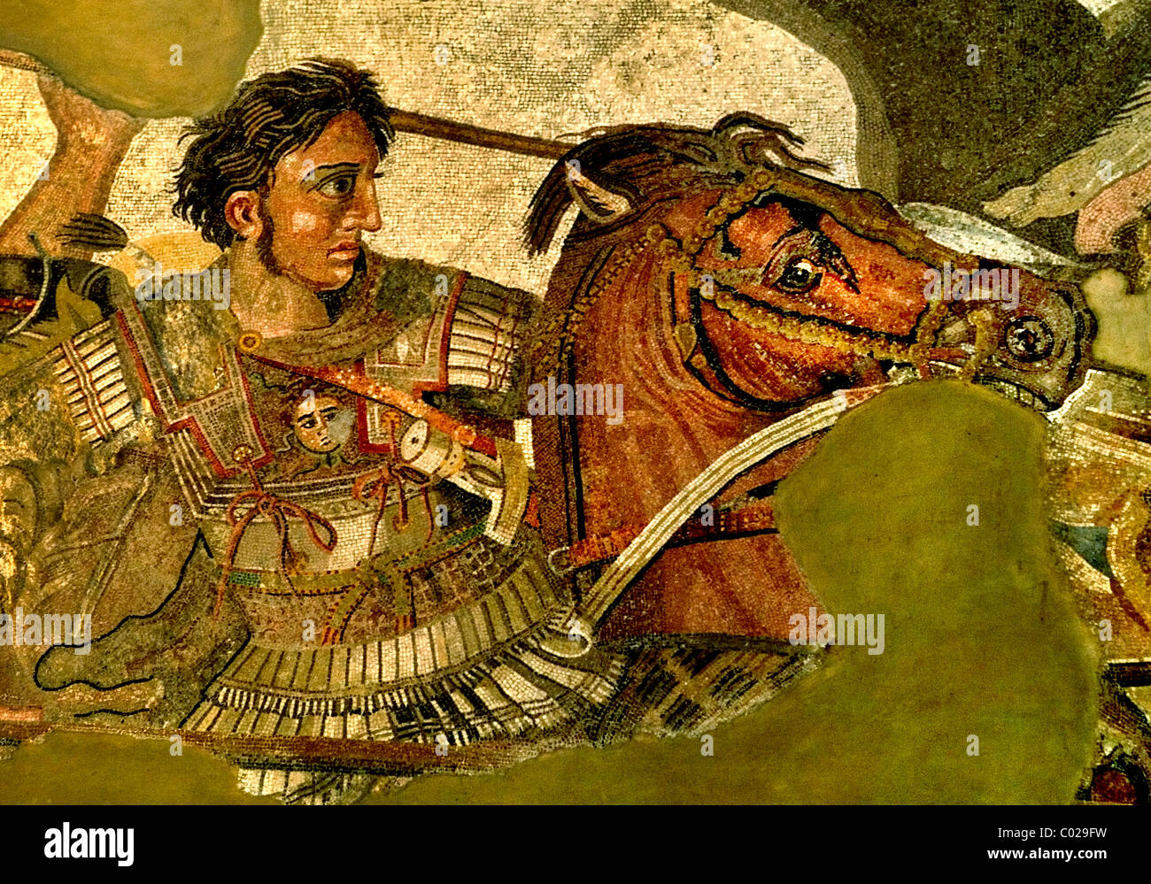This image is alexander the great in battle persian king darius iii this image is alexander the great in battle persian king darius iii alexander the great issus 331 b c mosaic pompeii 100 b kristyandbryce Choice Image