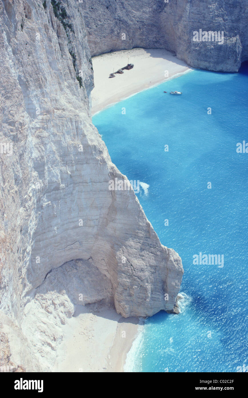Greece, Zakinthos,the wreck Stock Photo