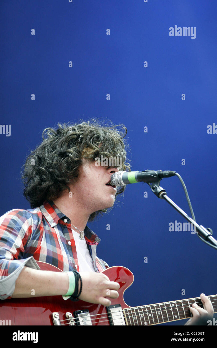 Kyle Falconer The View's lead singer performs at the Tennants Vital
