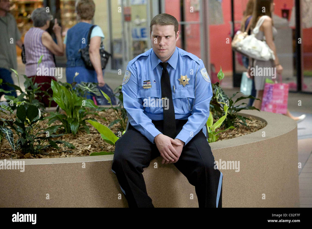 SETH ROGEN OBSERVE AND REPORT (2009) - Stock Image
