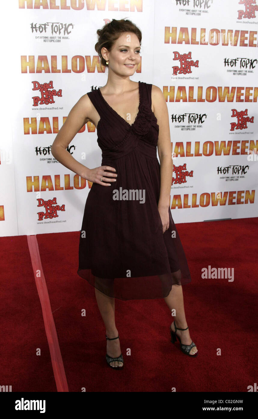 Halloween Premiere 2020 Arrivals Hanna Hall 'Halloween' premiere held at Mann's Chinese Theater