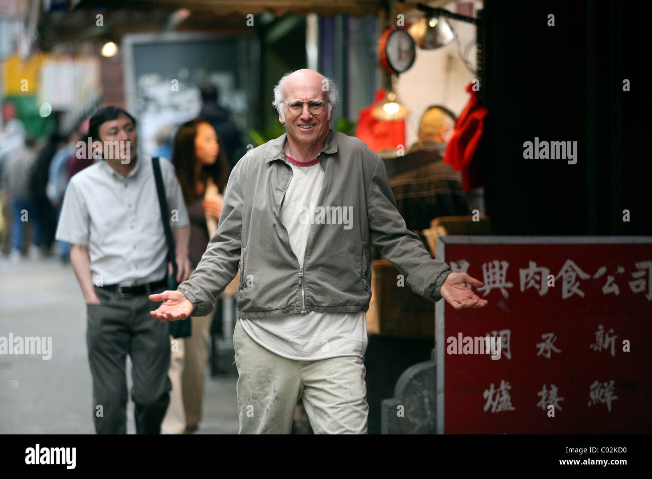 LARRY DAVID WHATEVER WORKS (2009) - Stock Image