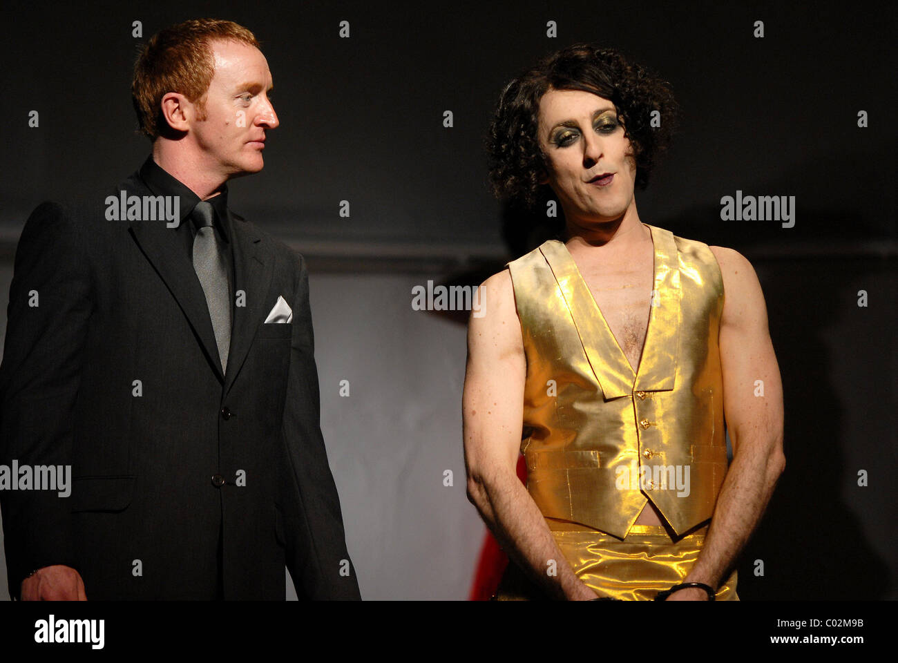 Tony Curren and Alan Cummings The Bacchae photocall at the Lyric Theatre London, England - 07.09.07 Stock Photo