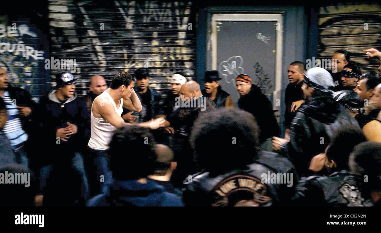 CHANNING TATUM & DANTE NERO FIGHTING (2009) Stock Photo