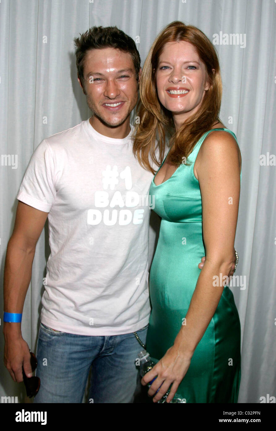 Michael Graziadei And Michelle Stafford The Young And The Restless Stock Photo Alamy