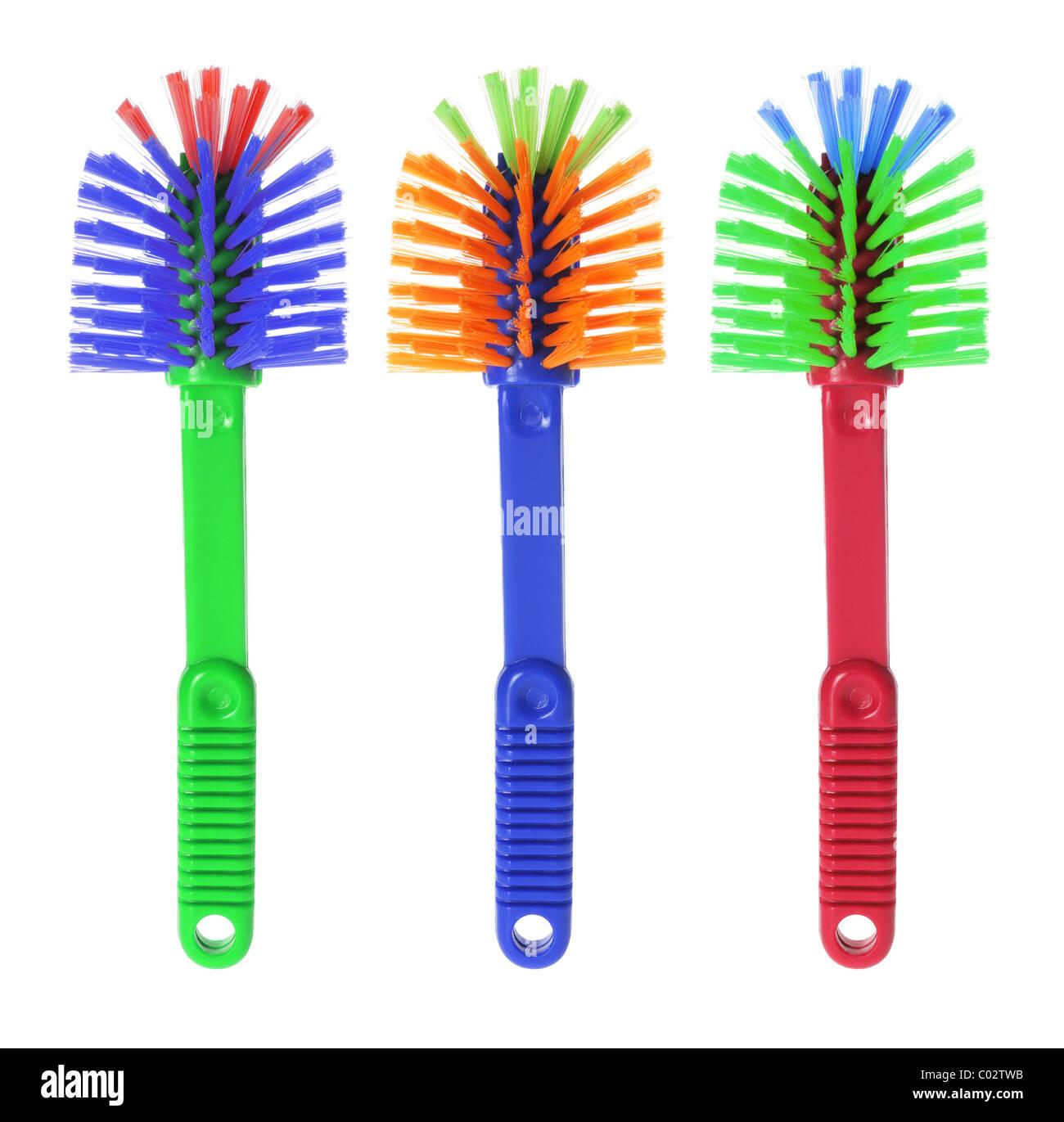 Plastic Brushes - Stock Image