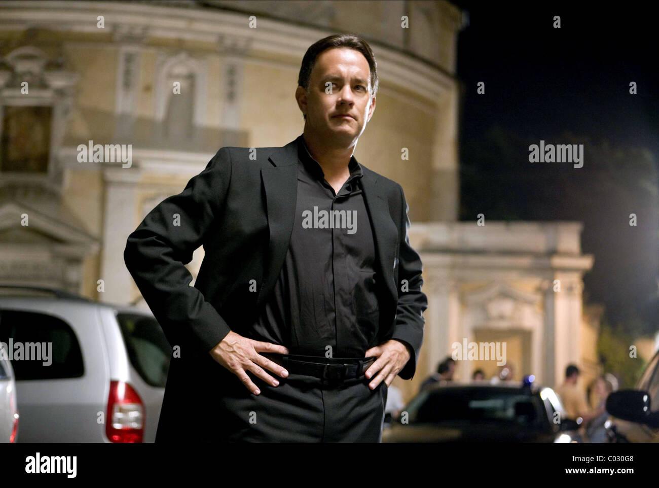 TOM HANKS ANGELS & DEMONS (2009) - Stock Image