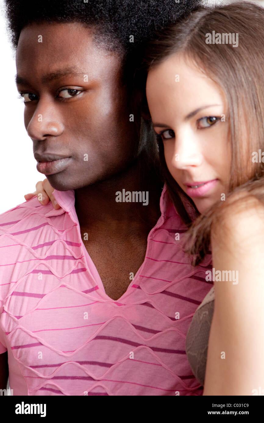 couple, portrait - Stock Image